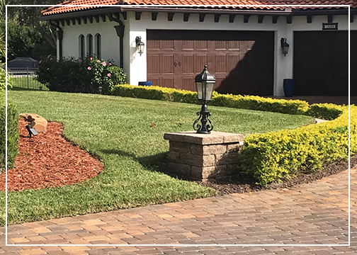 Landscaping by Gutierrez & son in Central Florida